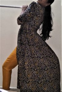 Kalamkari Kurta Design | Kalamkari Kurta Designs | Cigarette pants with kurta