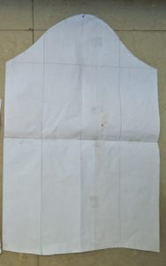 basic sleeve pattern cutting
