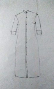 shirt dress design