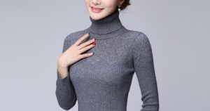 turtleneck collar
