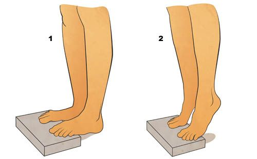Flat Feet Exercises - Gastrocnemius Strengthening
