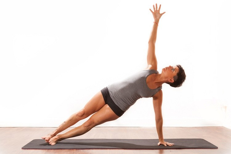 Yoga for arms (Side Plank Pose)