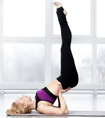 Yoga For Immune System - Viparita Karani - This pose increases circulation in the entire body. It releases stress and tension from the body, resulting in a calm mind.