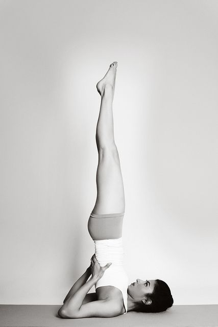 Sarvangasana (shoulder stand) - Yoga Inversions Benefits - Yoga Inversions Poses