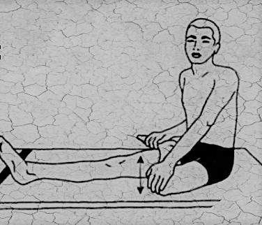 yoga for knees - stretching joints - ardh titli asan