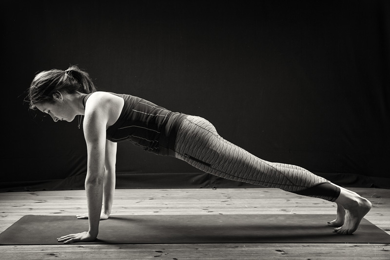 Yoga for strong core muscles