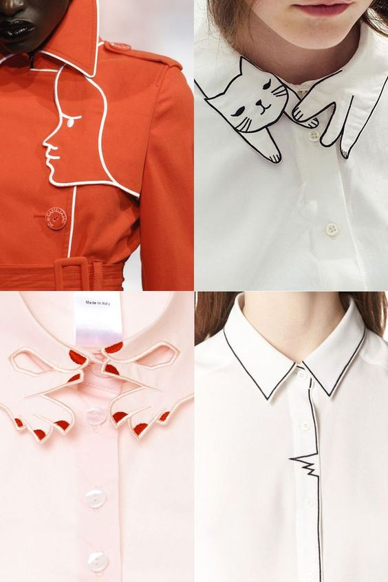 Graphic Collar Design