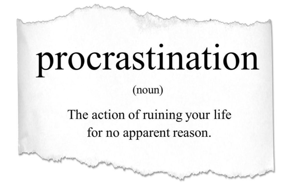 tips to avoid procrastination and overcome laziness