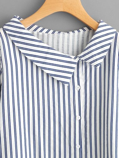 Side Collar Shirt