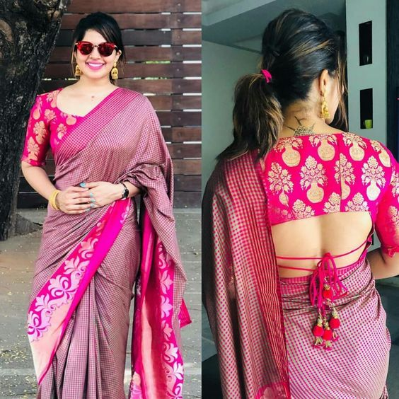 Blouse Back Neck Designs Latest Trendy Chic Style Lifestyle