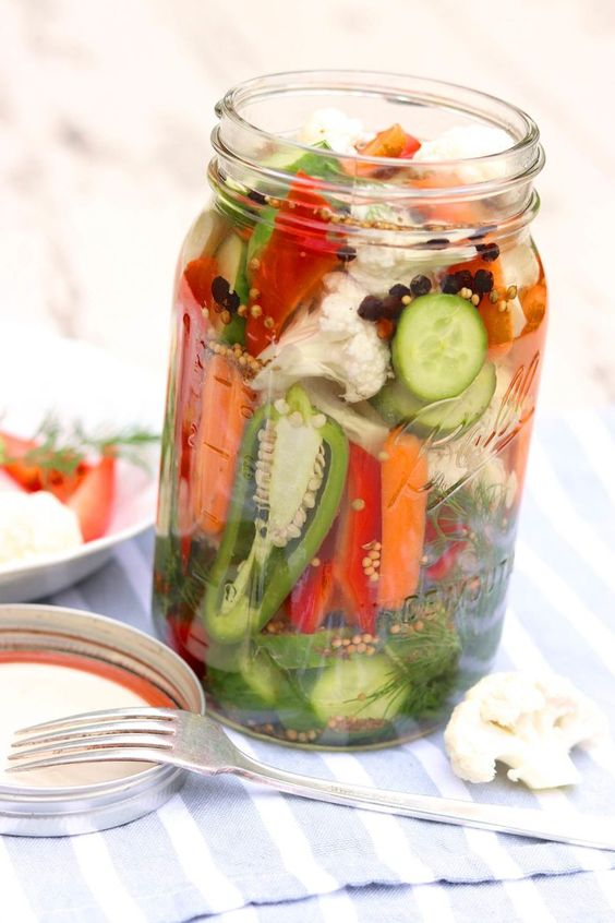 fermented vegetables to relive gas