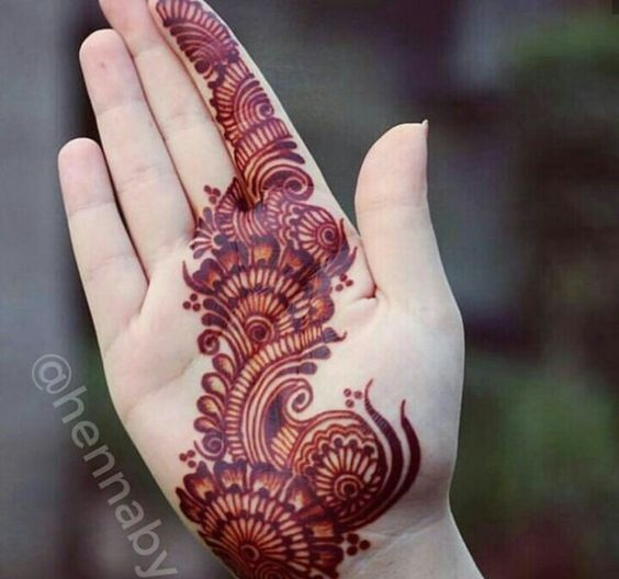 arabic mehandi design latest
