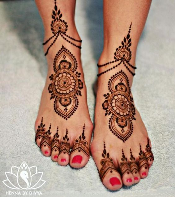 10 Latest Foot Mehndi Designs Never Seen Before 2019 \u2013 Lifestyle