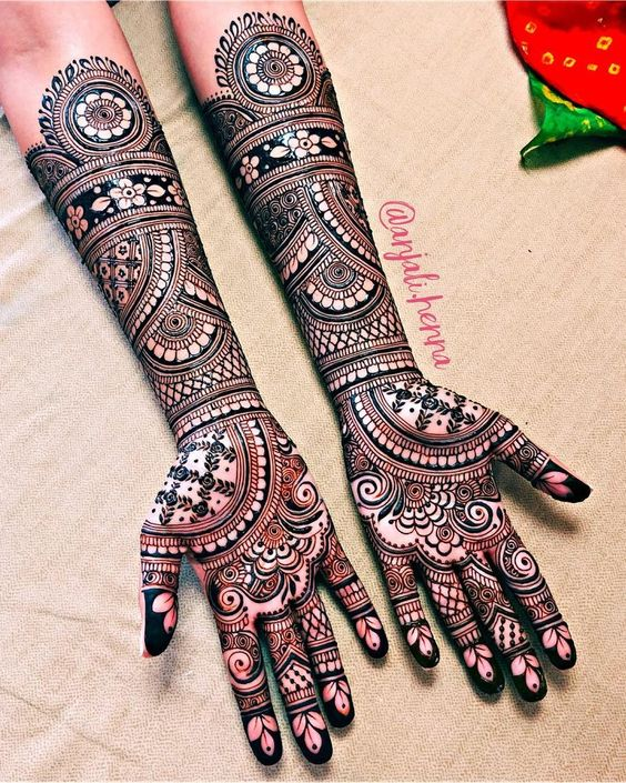 4. Indian mehndi designs