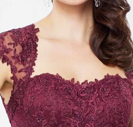 queen anne neckline