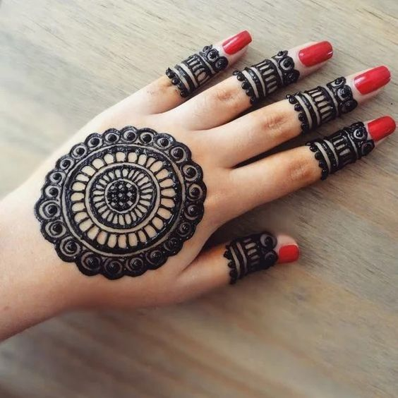 21 Classic Round Mehndi Designs You Should Try In 2020 Lifestyle