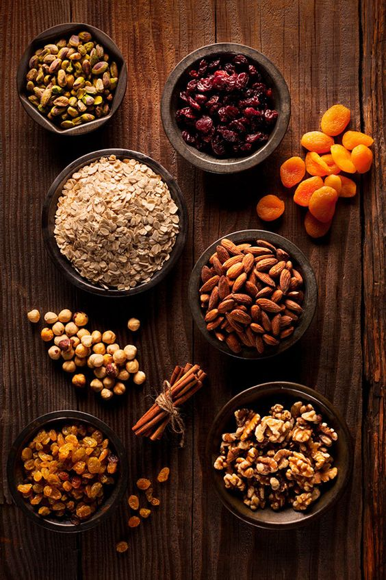 nutty trail mix healthy snack