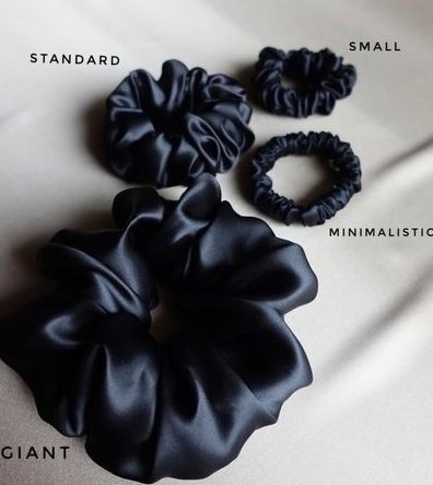 scrunchie sizes