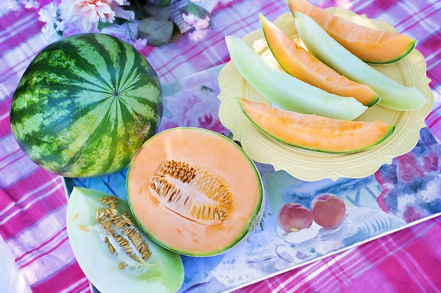 melons to cool the body in summer