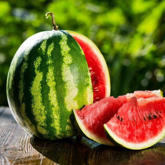 water melon reduces body heat