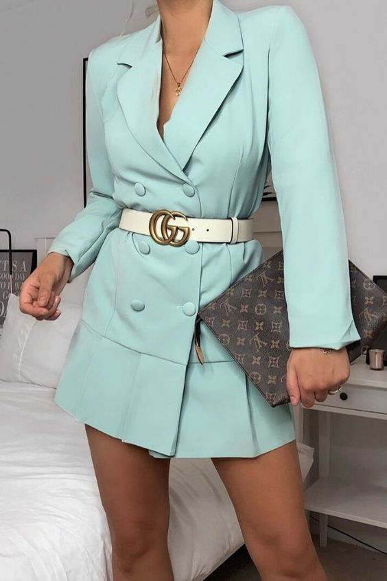 31. Blazer type of Dresses