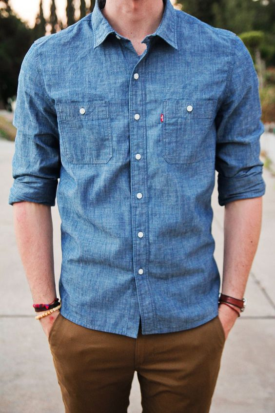 Chambray - types of shirts