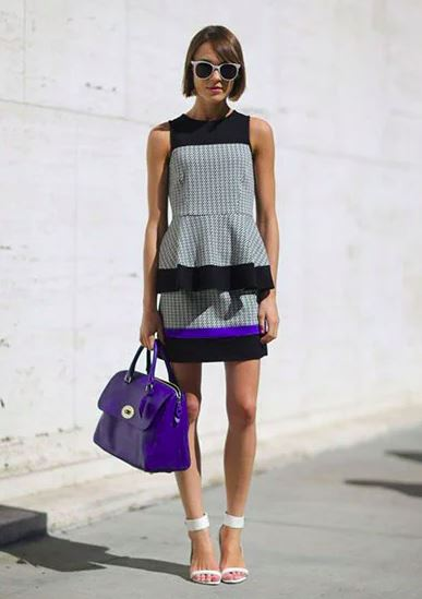 12. Peplum Dress
