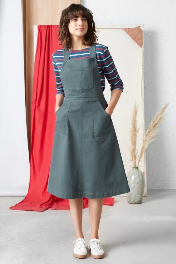24. Pinafore Dress