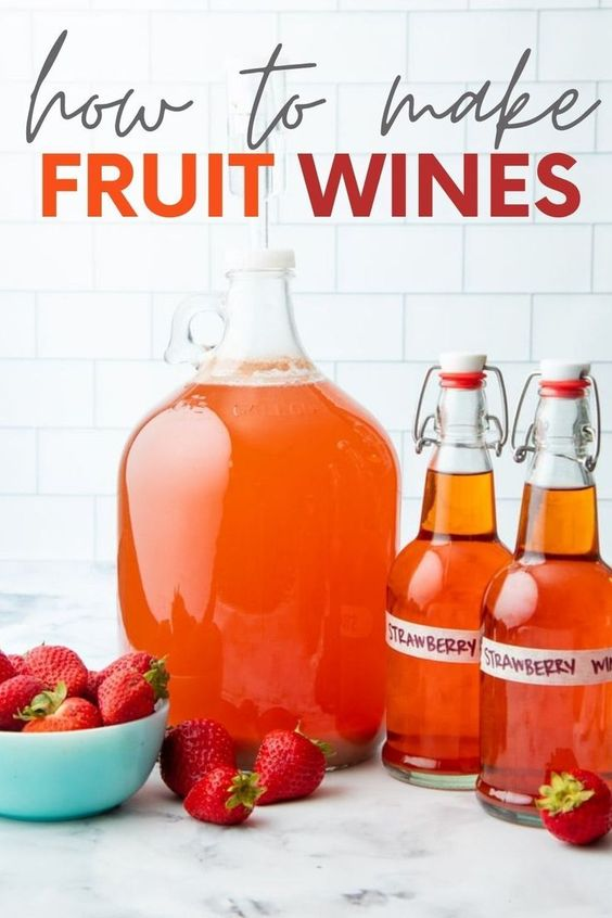 how to make fruit wine