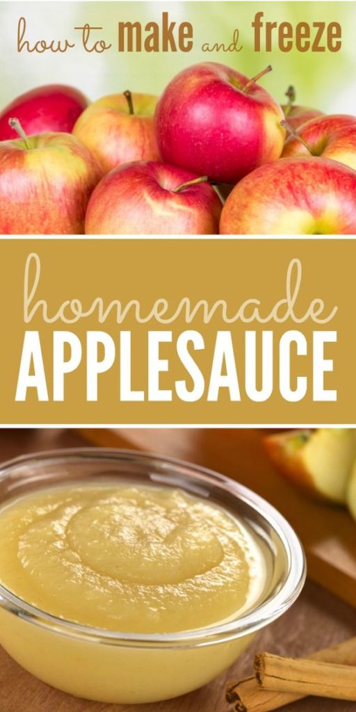 Freeze Applesauce The Right Way