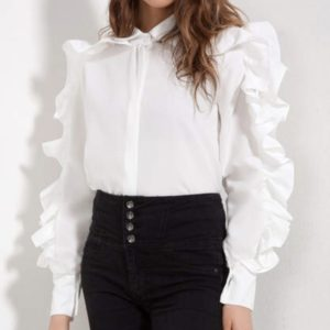 shirt with chic sleeves