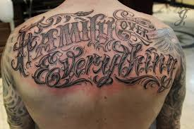 Family Over Everything Tattoo ideas for men