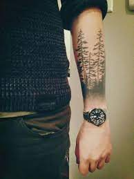 Forest Tattoo ideas for men