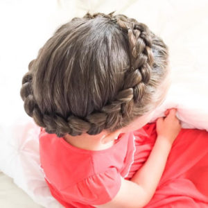 Crown Of Braids for kids