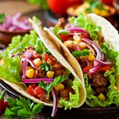 Jowar Tacos with spicy chicken filling