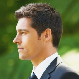 tidy hairstyle for thin hair men