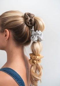 Bubble Pony With Scrunchies