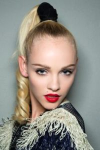 High Ponytail With thin hair