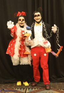 Mickey Mouse And Minnie Mouse Halloween Costume