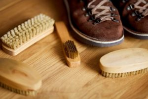 essentials to clean suede shoes