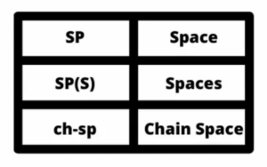 What Does SP Mean in Crochet