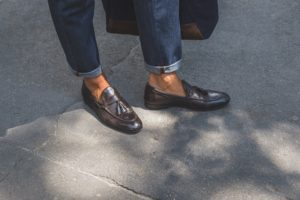 When to wear oxfords and loafers